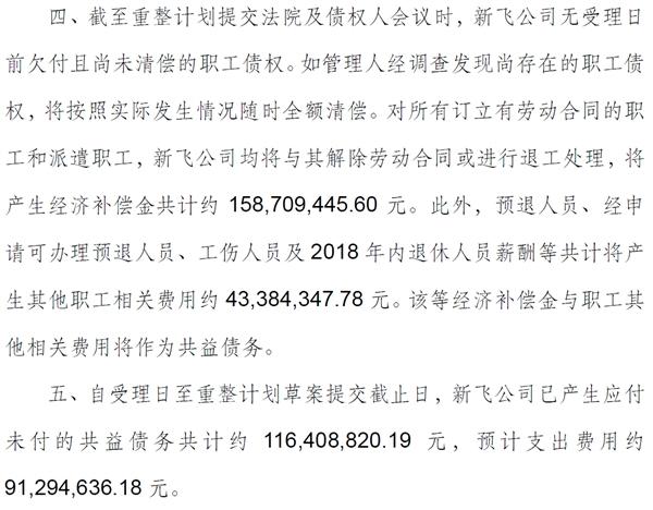新飞破产:外债超25亿、公司整体遭司法拍卖