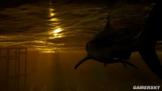 《食人鲨》游戏公布 玩家扮演大鲨鱼横行海洋