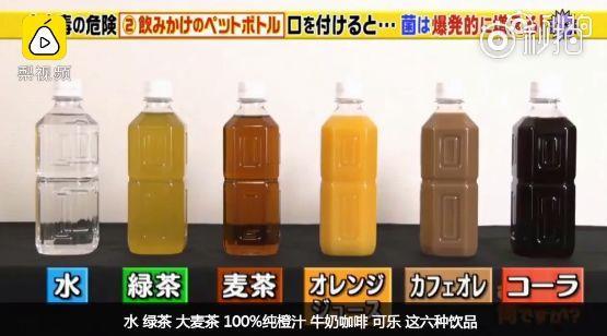 喝过的饮料放一天还能喝吗?实验结果惊人
