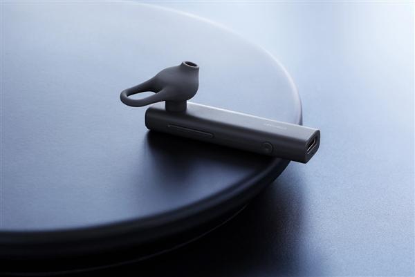 坚果蓝牙小黑耳机现货开售:99元