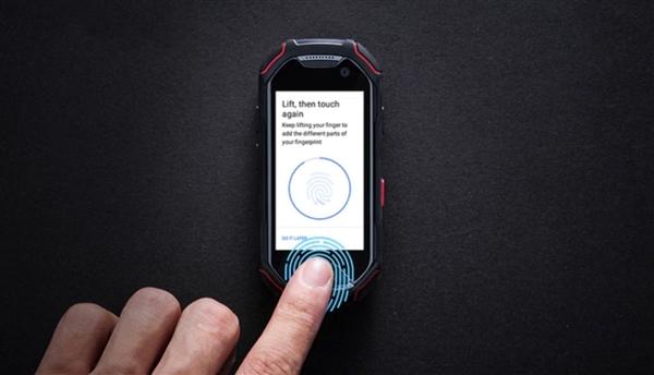 1400元!2.45寸最小安卓手机众筹火热:指纹/防水/NFC齐全
