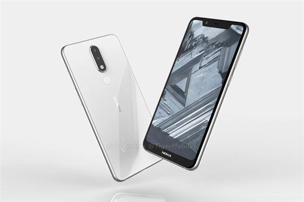 联发科P18!Nokia 5.1 Plus曝光:刘海屏+后置双摄