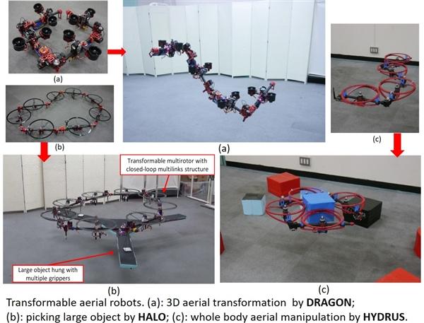 日本团队做出拟态机器龙:能飞天、可变形
