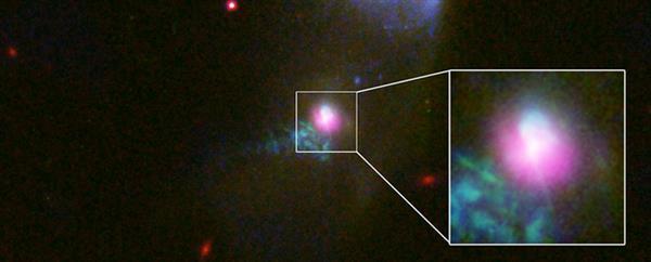 """天文学家首次观测到一个黑洞""""打了两次嗝"""""""