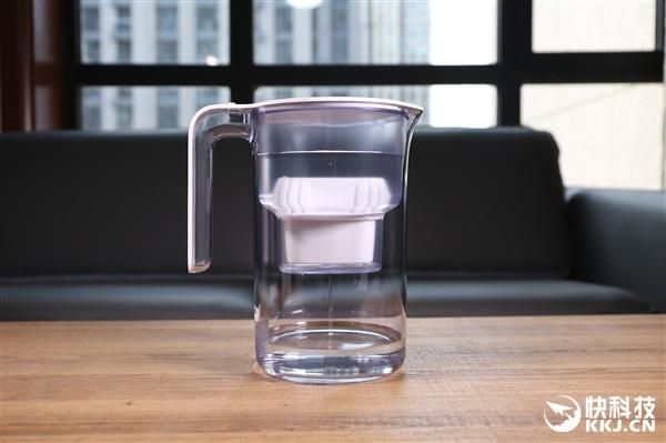 99元米家滤水壶开箱图赏:5分钟喝一壶净水