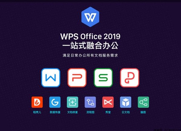 金山WPS Office 2019正式发布:一个软件操作Word、Excel、PPT