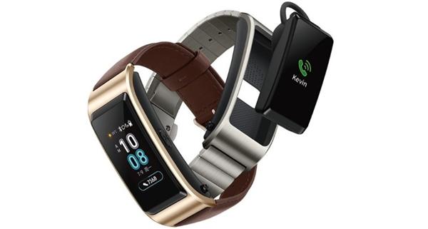 华为TalkBand B5曝光:金属表带、沿用二合一设计