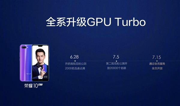 GPU Turbo之外 荣耀10还有这项手持夜拍科技