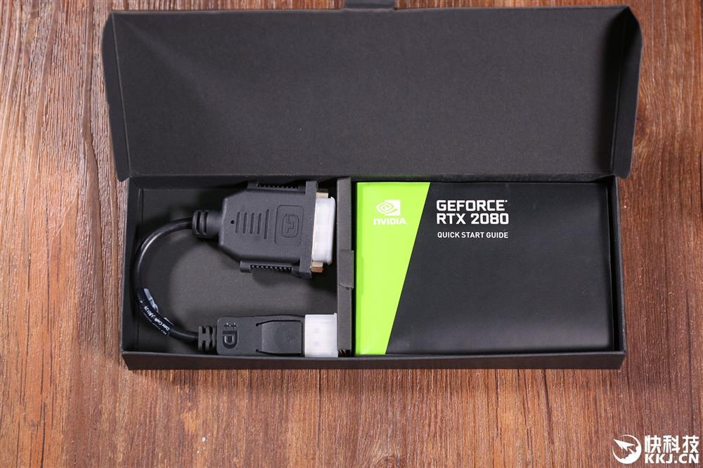 像极煤气灶 NVIDIA RTX 2080显卡开箱图赏