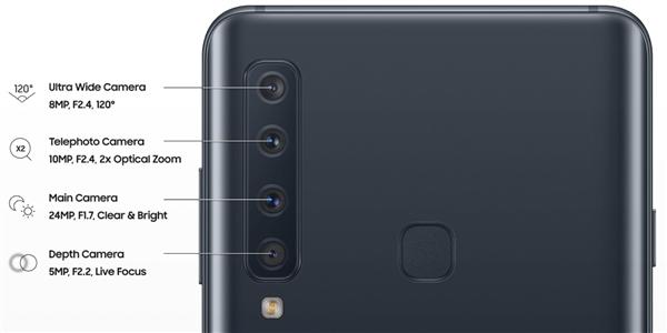 三星Galaxy A9s即将发布:四镜头加持