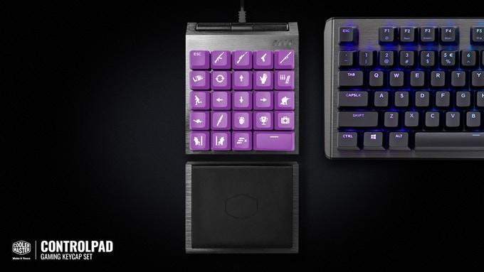 酷冷至尊众筹24键ControlPad:可精确控制游戏
