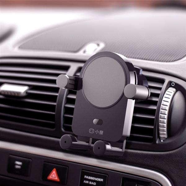 小度语音车载支架上线 拥有无线充电和智能语音功能