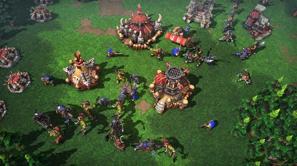 《魔兽争霸3:重制版》中文官网上线:升级4K画质 重调平衡性