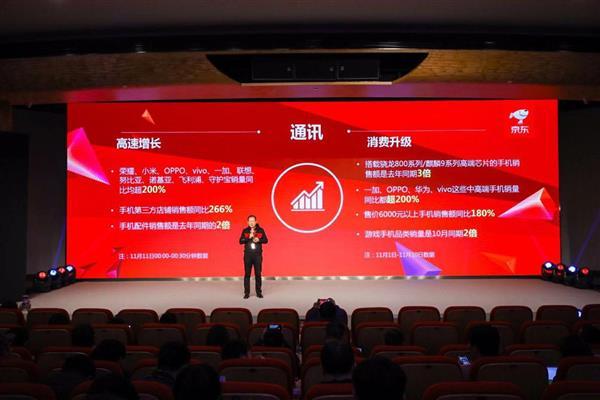 京东6000元价位段手机销量同比187% 11.11品质消费到来!