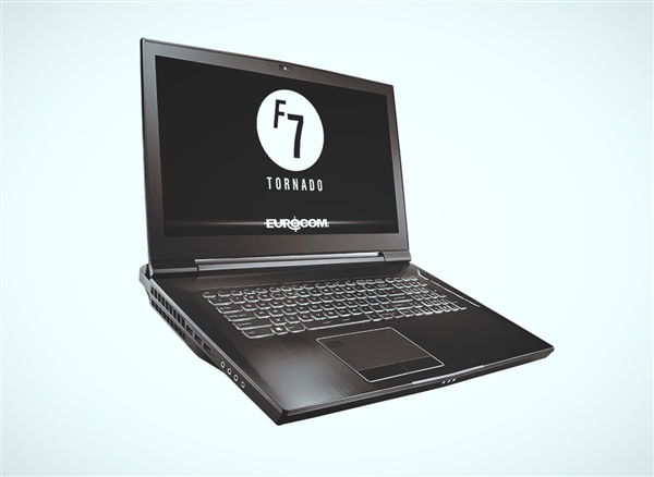 Eurocom推出Tornado F7W移动工作站 号称世界上最强大笔记本