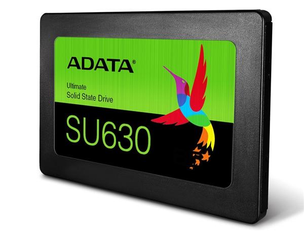 威刚宣布推出SU630固态盘 起步容量240GB