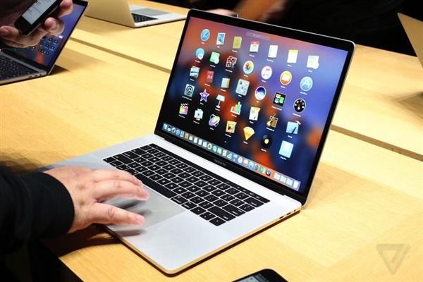 苹果Mac笔记本市场份额同比下降24.3%