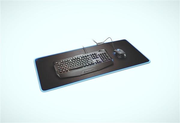 旋刚发布全新RGB鼠标垫1337 RGB XL/XXL:自带集线设计
