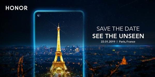 V20要来?荣耀巴黎发布会敲定:将推麒麟980/打孔屏新机