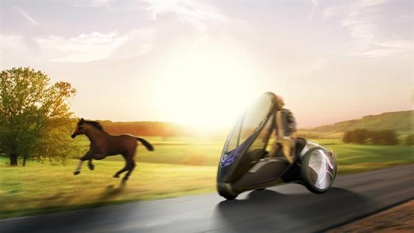 丰田FV2概念车推出 可通过驾驶员利用肢体进行操控