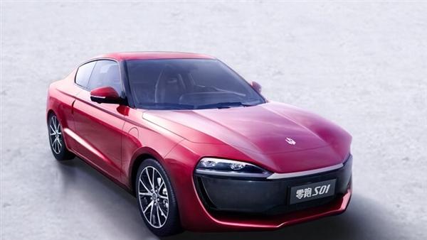 双门四座电动轿跑零跑S01配置发布 预计明年3月正式上市