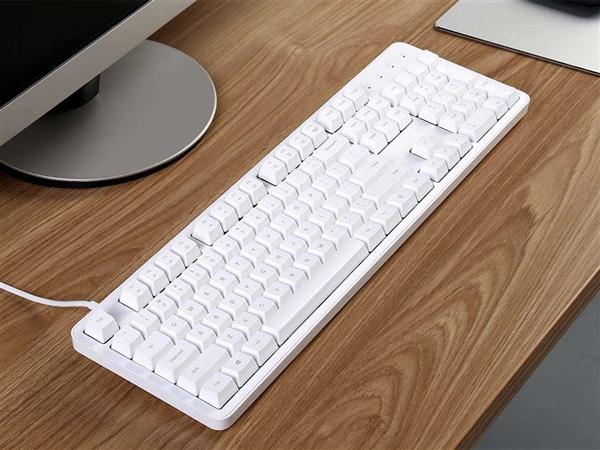 悦米机械键盘104键发布 售价329元