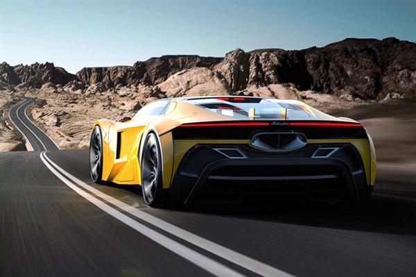 兰博基尼全新入门级跑车曝光:尺寸更小配混动系统