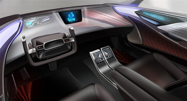 """丰田概念车舱将亮相CES展 配备""""体型和姿势检测系统"""""""