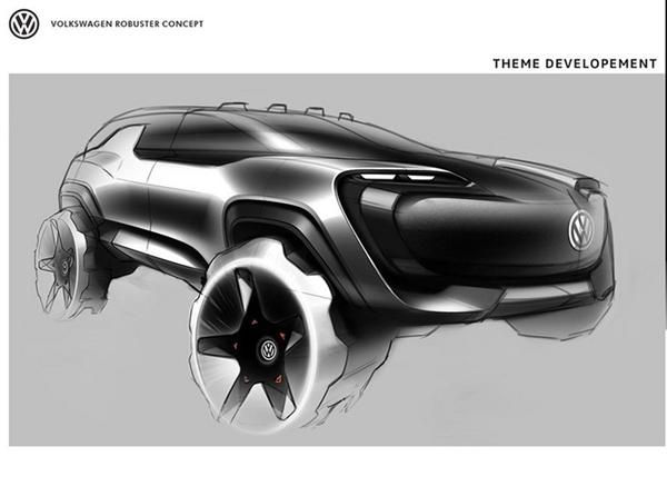 大众全新电动SUV曝光 硬派越野定位将于牧马人竞争