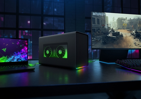 雷蛇發布Core X Chroma雷電3外置顯卡擴展塢