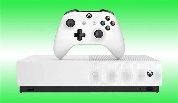 微软正式发布无光驱全数字版Xbox One S:预装三款游戏