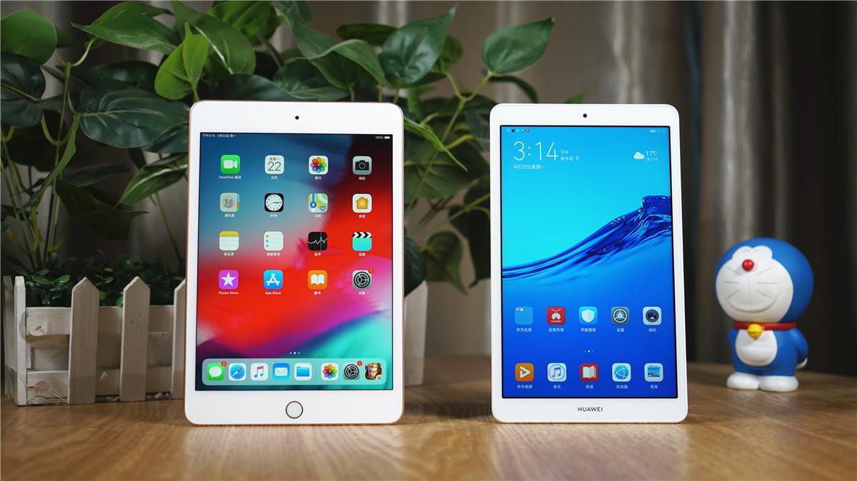 华为平板m5青春版/ipad mini 5对比评测:谁才是8英寸最强板?