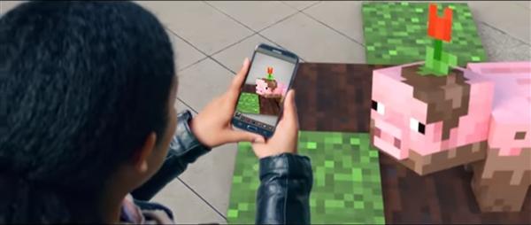 微軟發布《我的世界》全新預告:AR手機版來了!