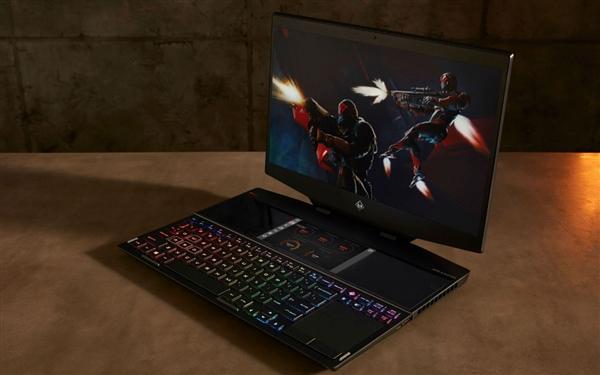 惠普发布双屏游戏本幻影精灵X:6寸副屏玩法多样、最高i9配RTX 2080