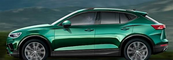 追赶轿跑SUV浪潮 途不都雅Coupe车型渲染图曝光