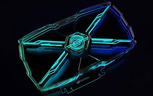 美哭了 Intel 2035年的GPU显卡就长这样:离子冷却