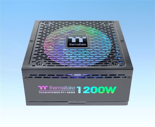 曜越推出全新RGB电源Toughpower PF1 ARGB:最高1200W