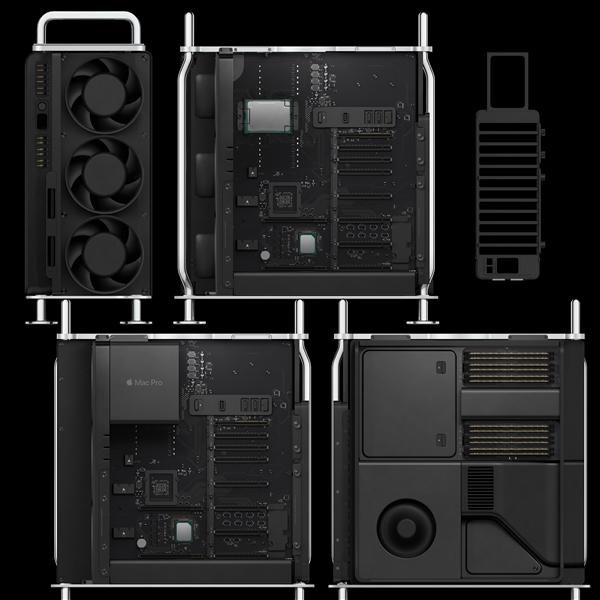 苹果Mac Pro、Pro Display XDR配置全公布: