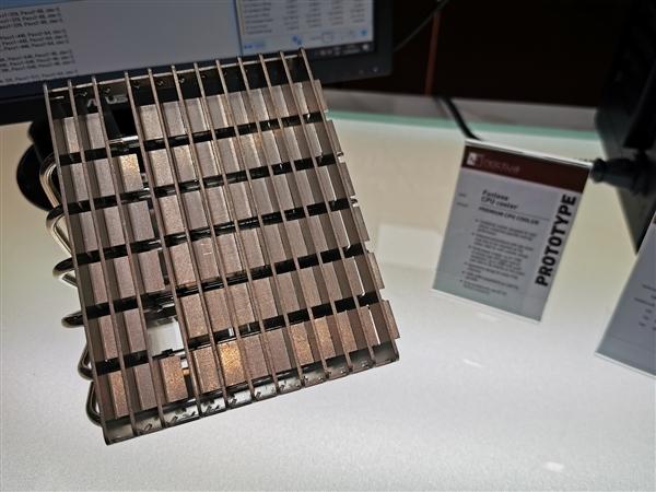 猫头鹰展现无风扇CPU散炎器:最大散炎能力120W