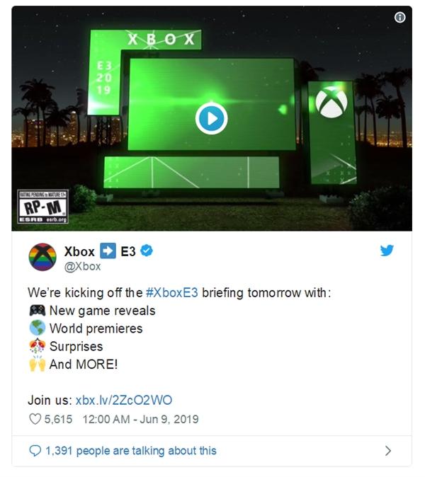 微柔倒计时预告下代Xbox:代号Scarlett 配置照样成谜