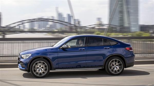 2.0T 4Matic崭新梅赛德斯奔驰GLC 300 Coupe官图发布