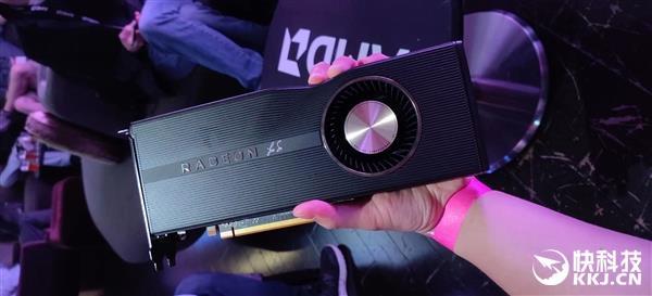 "AMD的RX 5700 XT祝贺版""奇葩""表不都雅被调侃 强制症不克忍"