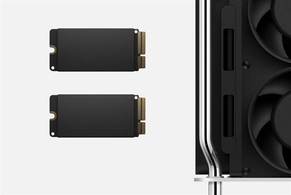 苹果为新Mac Pro开发了一套崭新SSD接口:速度不输顶级M.2