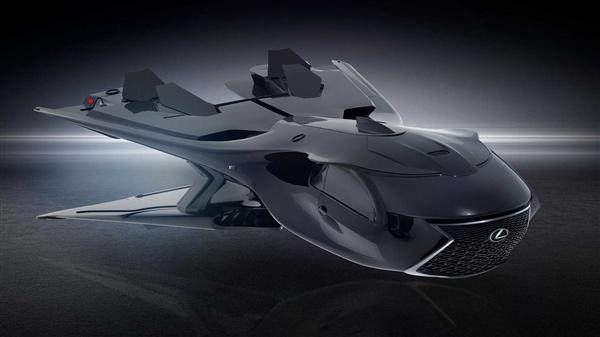 为电影《MIB》而生 雷克萨斯发布全新概念宇宙飞船官图