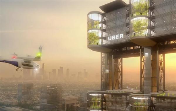 """Uber将与和AT&T配相符测试5G""""飞的"""""""