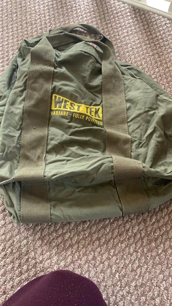辐射粉终于收到避难所帆布包