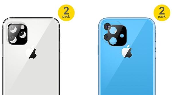 iPhone 11系列镜头珍惜贴公布:进一步确认方形摄像头