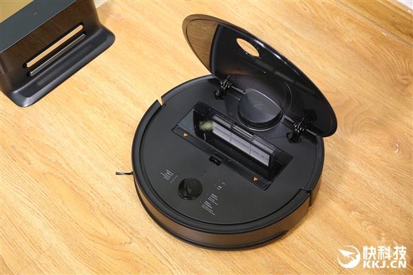 可打扫250㎡房屋 石头扫地机器人。T4图赏