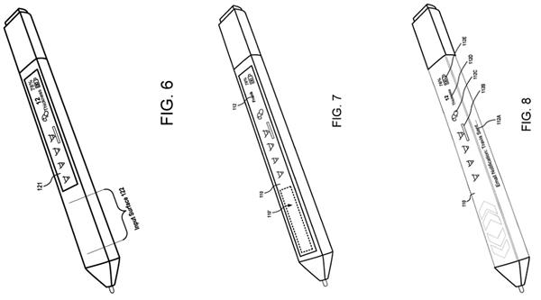 Surface Pen新专利曝光 它是一款。带触控屏幕的手写笔