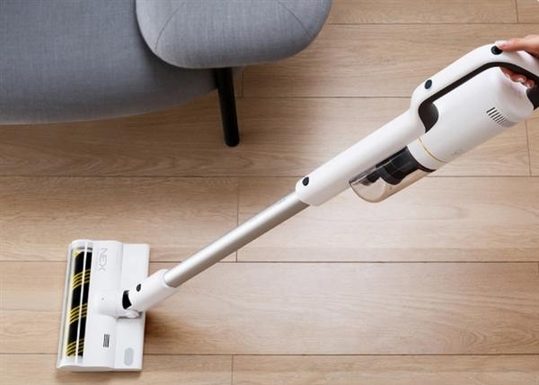 幼米多筹崭新无线吸尘器:吸拖一体 双倍整洁